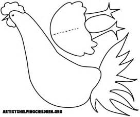 chicken mask template printable pin chicken mask templates printable ecard on