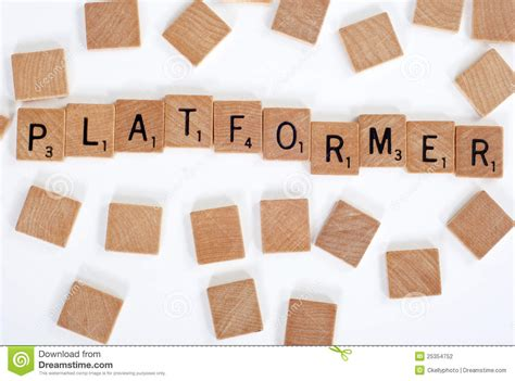 how do you spell scrabble scrabble tiles spell out platformer stock photography