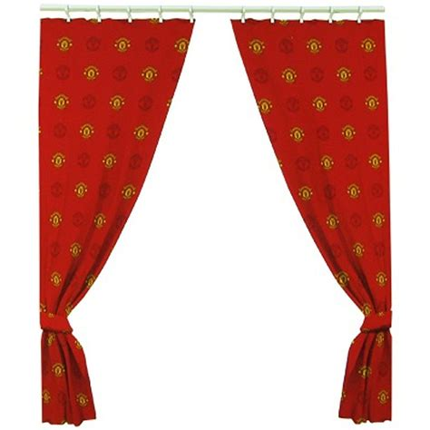 66 inch drop curtains extra large manchester united football curtains kids man