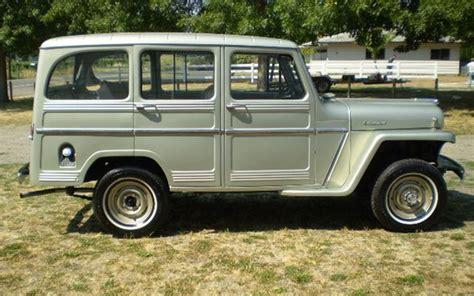 willys jeep truck 4 door 1960 willys 4 door station wagon barrett jackson auction