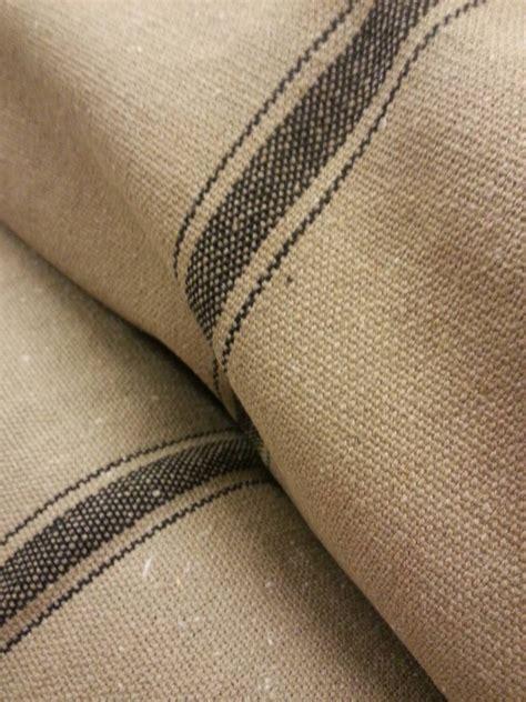 grain sack upholstery fabric grain sack fabric farmhouse fabric tan fabric black 3