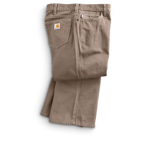 boot cut khakis s carhartt 174 canvas boot cut 188236