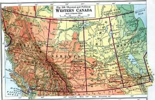 Western Canada Map by Map Of Western Canada Pictures To Pin On Pinterest Pinsdaddy