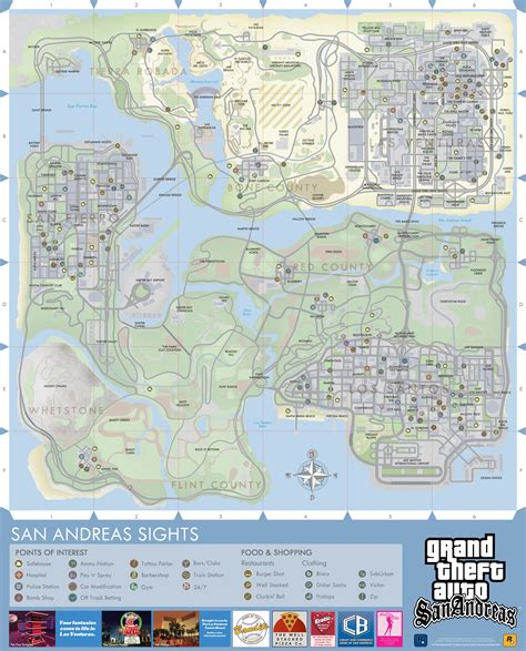 san andreas map high res maps for gta trilogy titles rockstar