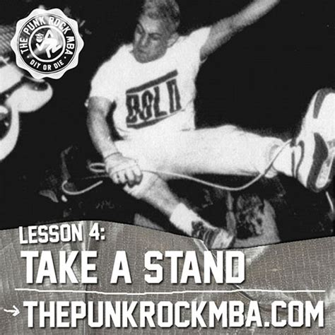 Rock Mba by Lesson 4 Take A Stand The Rock Mba