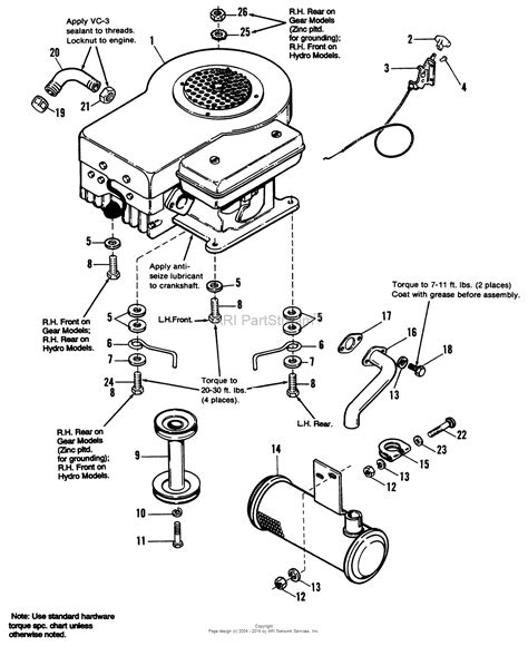 simplicity parts diagram simplicity 1692259 regent 12 5hp hydro parts diagram