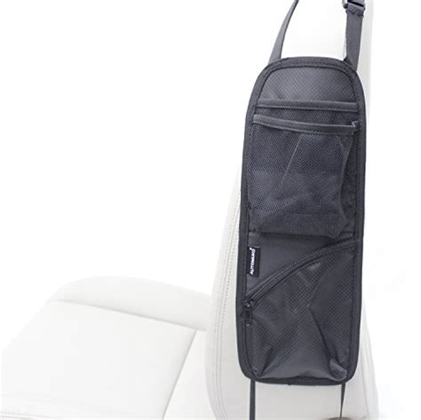 car seats in the front passenger seat automuko seat side organizer for use on any front