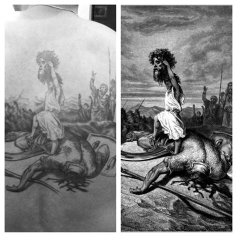 david and goliath tattoo david and goliath tattoos