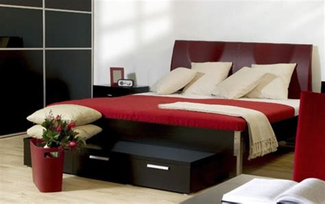 black and red bedrooms bigorous black red bedroom ideas looks elegant design