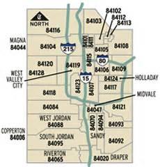 Slc Zip Code Map by Relocating To Utah Greatscottutah Com