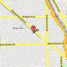Wicker Park Chicago Map by Wicker Park Inn Chicago Illinois Bed And Breakfast