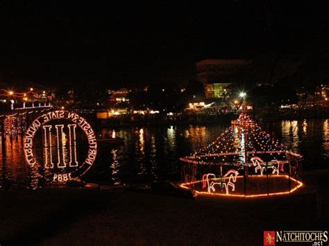 photos of christmas in natchitoches lousiana