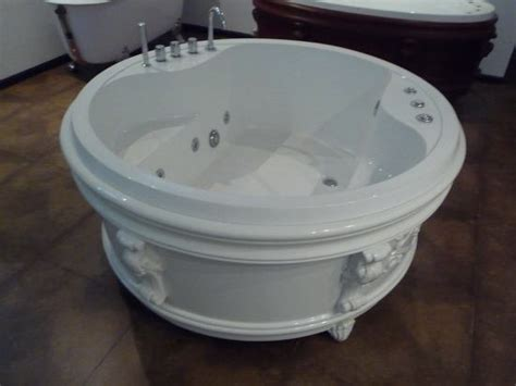 65 inch bathtub round freestanding soft tub 65 inch 1650 mm