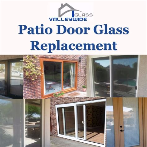 Patio Door Glass Repair Window Repair And Replacement Valleywide Glass Company