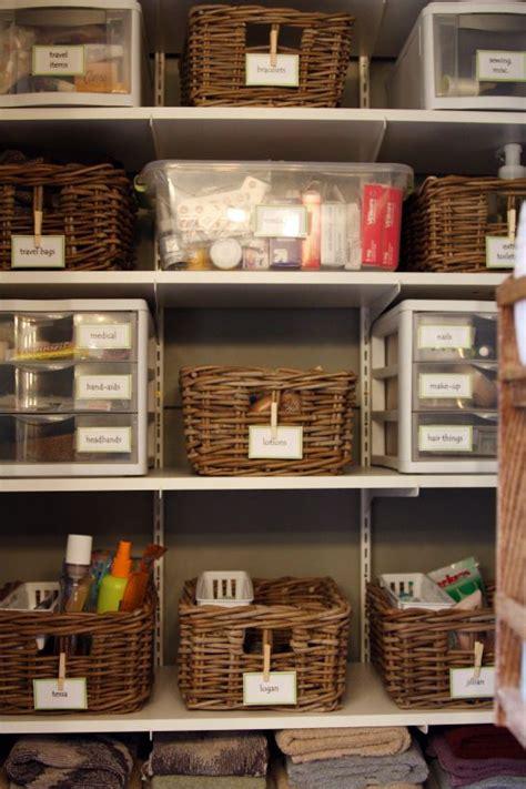 bathroom closet ideas bathroom closet organization on pinterest bathroom