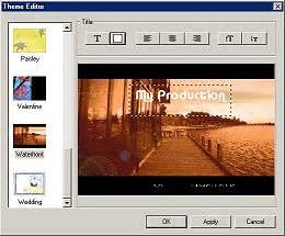 theme editor pc video editing with dvd