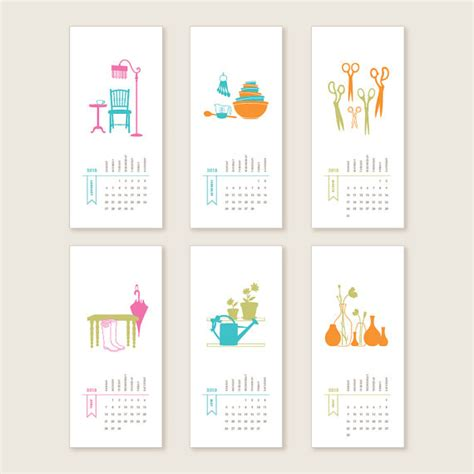 calendar design diy 29 creative calendars you can make or buy creative