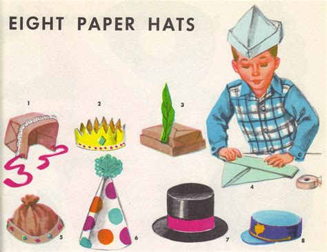 How To Make Paper Hats To Wear - paper hats for