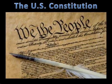 Search For In The Us The U S Constitution