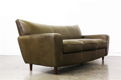 80 leather sofa vintage 80 s wingback leather sofa vintage supply store