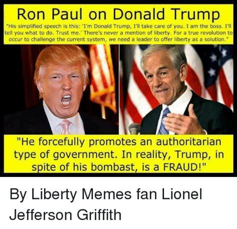 Ron Paul Memes - 25 best memes about authoritarian authoritarian memes