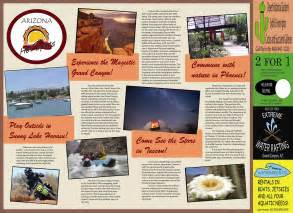 brochure templates for school project best photos of travel brochure school project sle