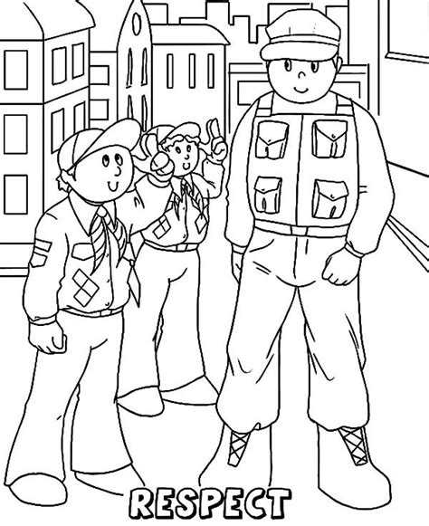 showing respect coloring pages www pixshark com images