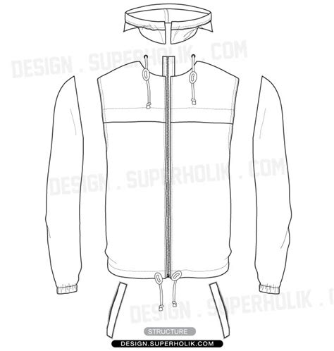 sports jacket template fashion design templates vector illustrations and clip