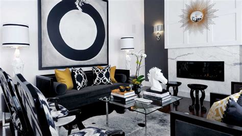 black sofas living room design 20 attractive black sofa living room home design lover