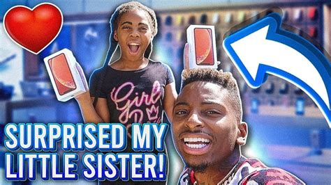 surprised   sister   iphone xr youtube