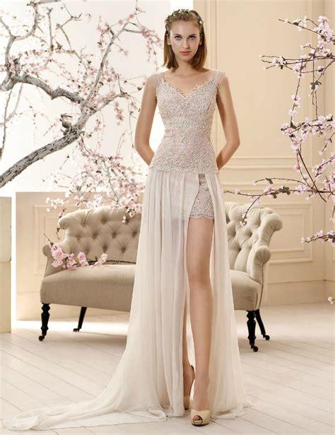 2016 bridalwear trends the mini wedding dress confetti
