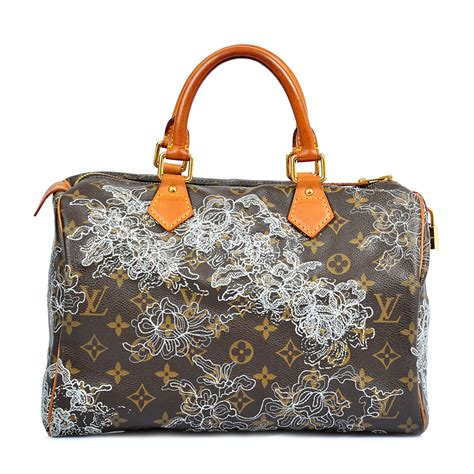 Tas Lv Seepdy Edition louis vuitton limited edition dentelle speedy 30 labelcentric