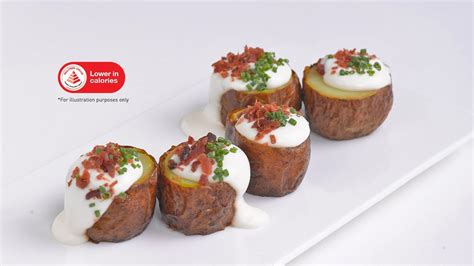 Best Foods Mayonnaise 3l baked potatoes with citrus bacon bits unilever food solutions
