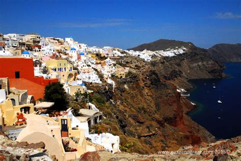 best views santorini santorini for the best views walk to oia gazing and