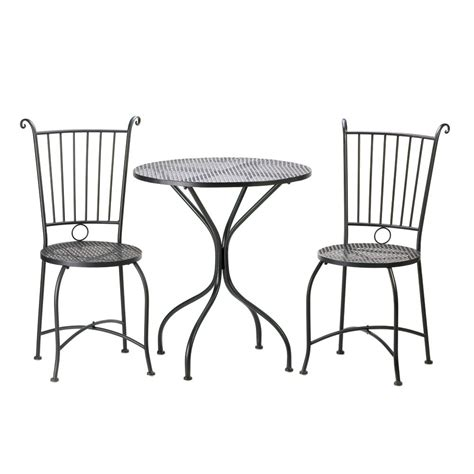 Metal Bistro Table And Chairs Metal Patio Table And Chairs Set Marceladick