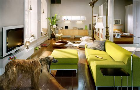 vibrant family room interior design idea house interior