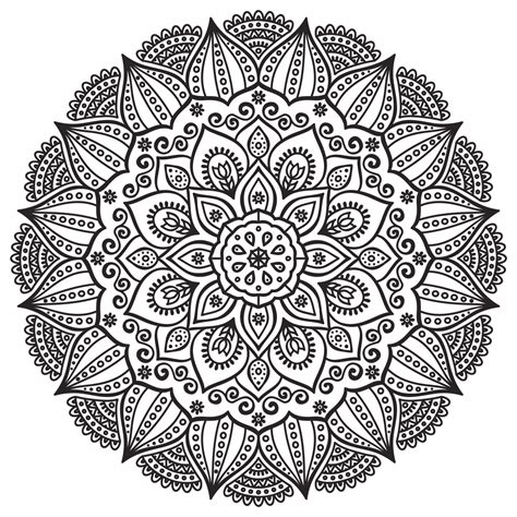 imagenes de mandalas navideñas mandalas para colorear dificiles imprimir jpg 1734 215 1734