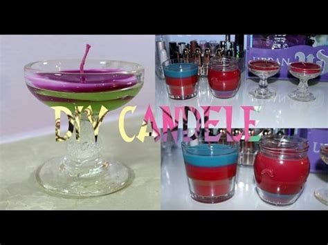 candele fatte in casa diy candele profumate colorate fatte in casa