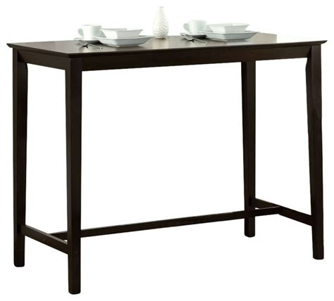 monarch specialties 48 quot x24 quot counter height kitchen table
