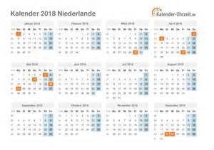 Kalender 2018 Deutschland Feiertage Feiertage 2018 Niederlande Kalender 220 Bersicht