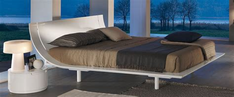 Aqua Bed by Presotto Aqua Bed White Low Height Beds