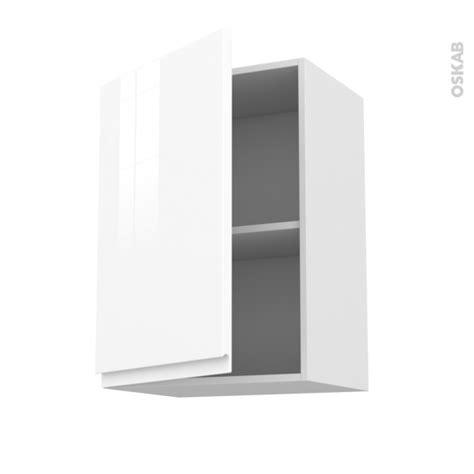 meuble haut de cuisine blanc meuble de cuisine haut ouvrant ipoma blanc brillant 1