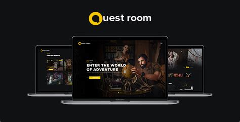 Quest Room by Quest Room Creative Escape Quest Room Onepage Theme With Booking System Included