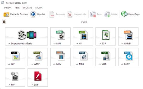 format factory converter quais formatos format factory 6 fun 231 245 es 250 teis para converter v 237 deo no