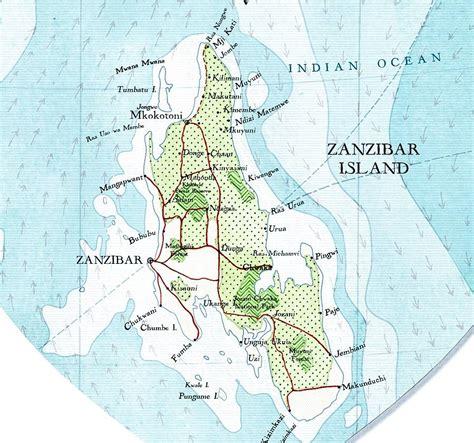 printable map of zanzibar zanzibar map heart print by bombus off the peg