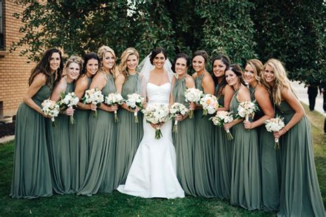 color bridesmaid dresses top 5 bridesmaid dress color trends for 2019