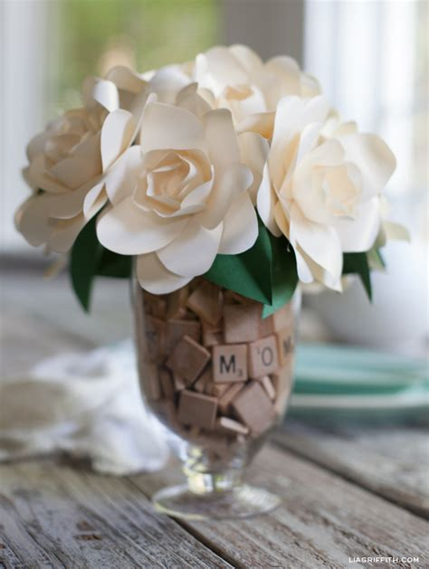gardenia paper flower tutorial the ultimate list of handmade flower tutorials 37