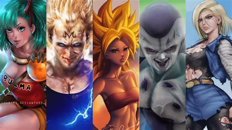 how dragon ball super characters would look if they were