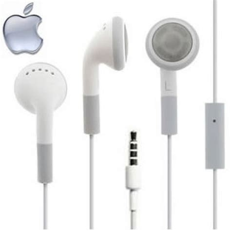 Headset Iphone 4 genuine apple iphone earphones headphones iphone type