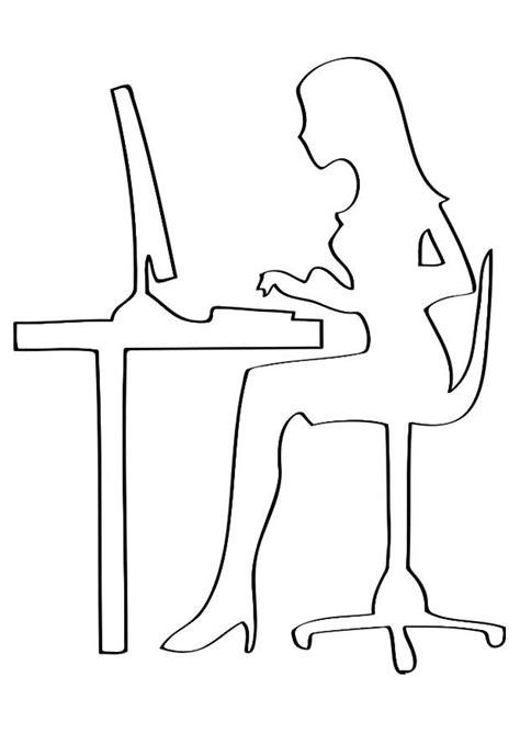 lavoro d ufficio disegno da colorare lavoro d ufficio cat 27874